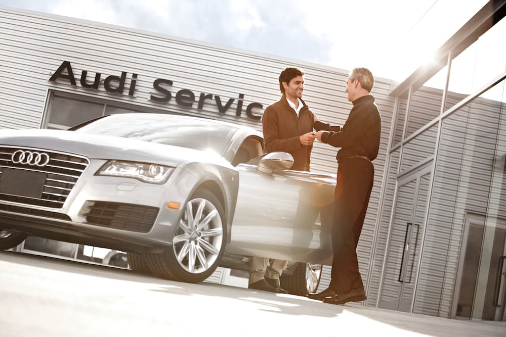 Audi Main Dealer Servicing